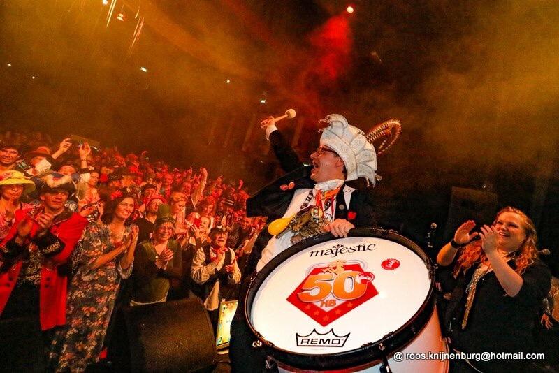 Carnavalsmaandag Rozen Mondeg prins en Wethouder